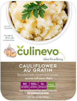 Cauliflower Au Gratin, fully cooked