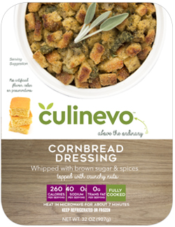 Cornbread Dressing, fully cooked, culinevo