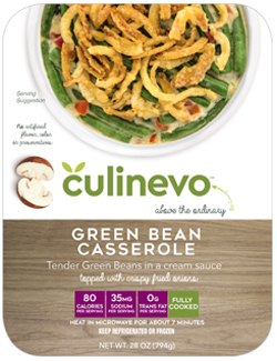 Green Bean Casserole, fully cooked, culinevo kitchen