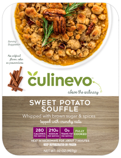 Sweet Potato Souffle, culinevo fully cooked meals