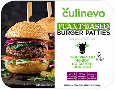 Plant Based Alternative Burger Patties