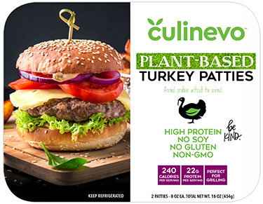 plant based turkey patties
