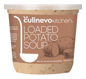 Loaded Potato Soup, culinevo kitchen